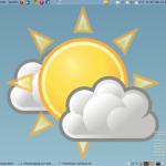 Dynamischer Gnome Desktop für Weather Wallpaper auf Ubuntu