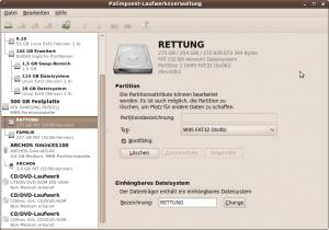 Bildschirmfoto-Palimpsest-Laufwerksverwaltung
