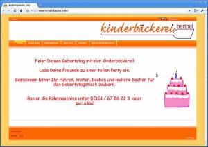 Kinderbäckerei - Geburtstag - Google Chrome
