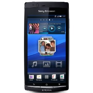 Sony Ericsson Xperia Arc Smartphone (10.67cm (4.2 Zoll)Touchscreen, 8.1MP Kamera, GPS, HDMI, HSDPA, WIFI, Android 2.3) midnight blue