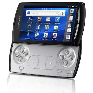 Sony Ericsson Xperia Play Android Mobiltelefon (10,1 cm (4 Zoll) Touchscreen, 5 MP Kamera, Android OS 2.3, inkl. 8GB microSD) schwarz