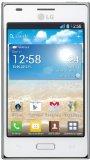 LG E610 Optimus L5 Mobiltelefon (10,2 cm (4 Zoll) Touchscreen, 5 Megapixel Kamera, UMTS, WiFi, Android 4.0) weiß