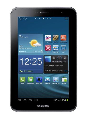 Samsung Galaxy Tab 2 P3100 3G+WIFI Tablet (17,8 cm (7 Zoll) Display, 1GHz Prozessor, 1GB RAM, 16 GB Speicher, 3,2 Megapixel Kamera, Android) titanium-silber