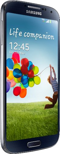 Samsung Galaxy S4 Mobiltelefon (12,7 cm (4.99 Zoll) AMOLED-Touchscreen, 16 GB interner Speicher, 13 Megapixel Kamera, LTE, Android 4.2) black-mist