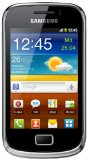 Samsung Galaxy mini 2 S6500 Smartphone (8,31 cm (3,27 Zoll) TFT-Touchscreen, 3,2 Megapixel Kamera, Android 2.3) modern-black