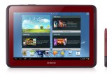 Samsung Galaxy Note 10.1 GT-N8010GRADBT WiFi only Tablet (Quad Core Prozessor, 25,7 cm (10,1 Zoll) Display, 5 Megapixel Kamera, 16GB Speicher, WiFi, Android 4.0) garnet-red