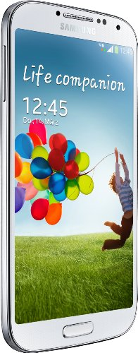 Samsung Galaxy S4 Smartphone (12,7 cm (4.99 Zoll) AMOLED-Touchscreen, 16 GB interner Speicher, 13 Megapixel Kamera, LTE, Android 4.2) white-frost