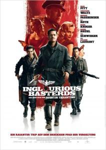 Das Poster zum Film: Inglourious Basterds