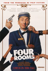 Das Poster zum Film: Four Rooms