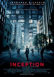 Das Poster zum Film: Inception