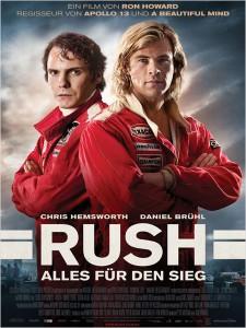 Das Poster zum Film: Rush - Alles für den Sieg