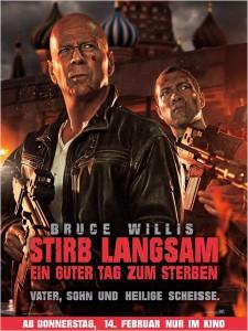Das Poster zum Film: STIRB LANGSAM - Ein guter Tag zum Sterben